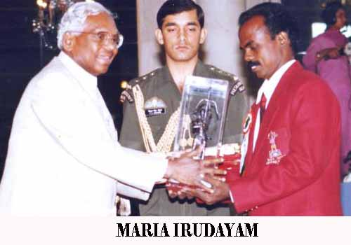Maria Irudayam Indian Sports