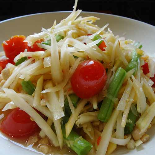 Salad Recipes - Thai Papaya Salad