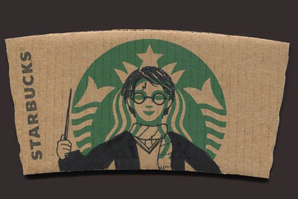 Harry Potter on StarBucks Mermaid