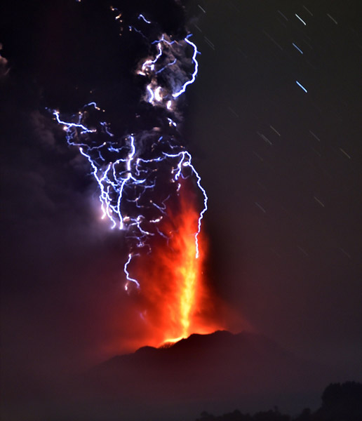 Chile's Volcano Eruption