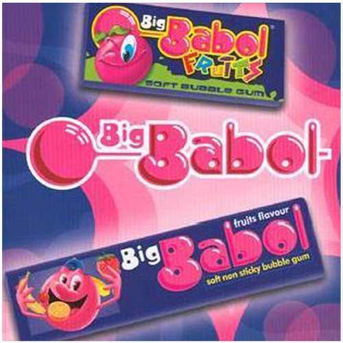 Big babol gum