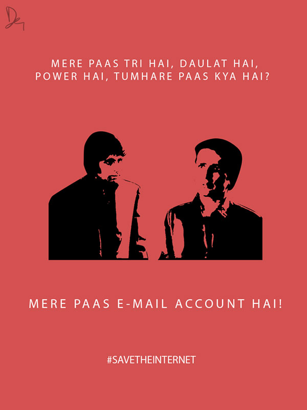 Amitabh and shahi kapoor savetheinternet