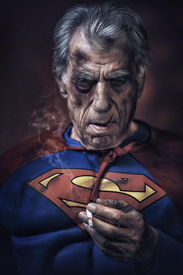 Superheroes in Their Old Age, Superman