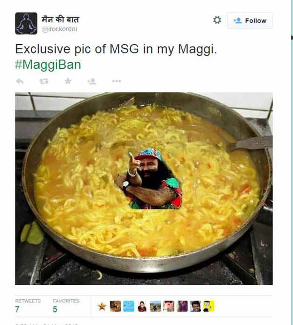 Maggi Trolls MSG