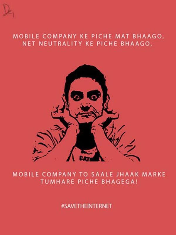 Net Neutrality Poster Aamir khan