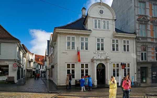 Bergen, McDonalds