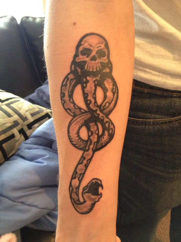 Dark lord Mark Harry Potter Tattoo