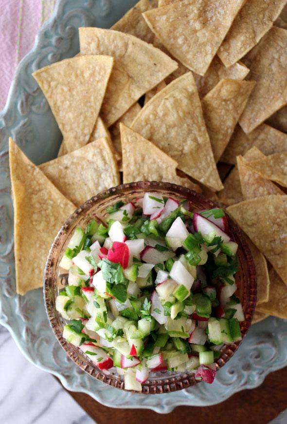 Radish and Cucumber - Salsa Recipe