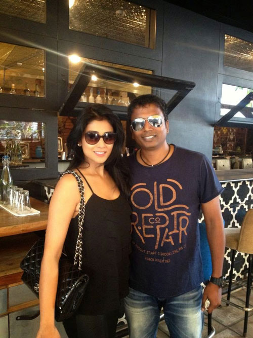 Sunder Ramu with Shriya Saran, Date 365 woman