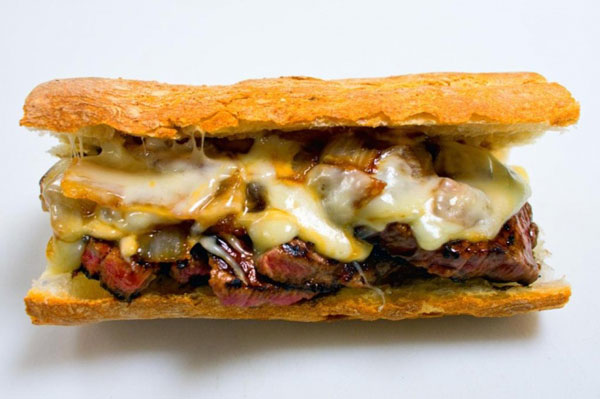 Pat LaFrieda original steak sandwich, Citi Field (New York Mets); Stadium Food