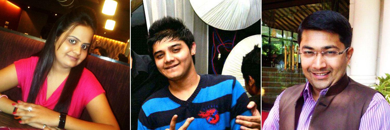 Garima Pareek, Aditya Pandit and Priyank Joshi - NIEM Student