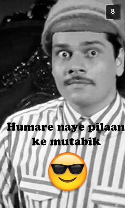 Andaz apna apna Bhalla snapchat