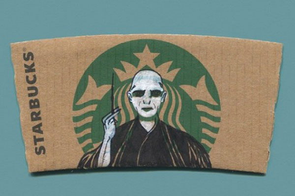 Lord Voldemort on StarBucks Mermaid