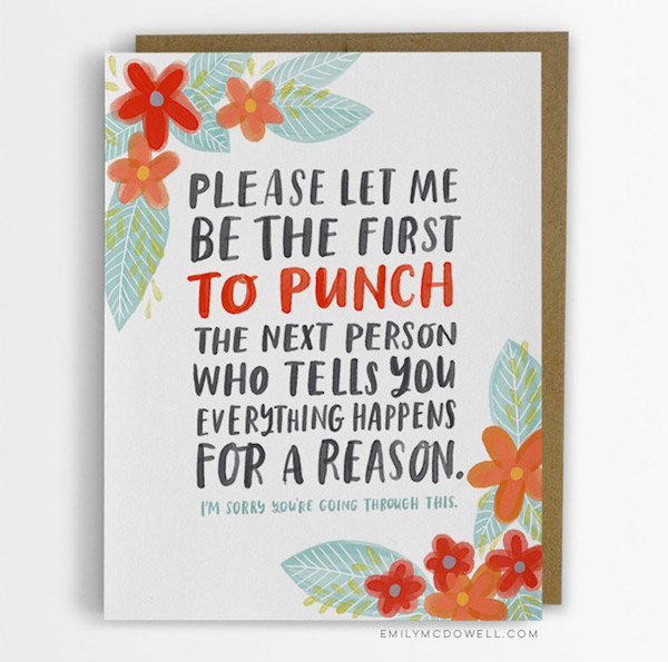 Be the First To punch - Empathy Cards