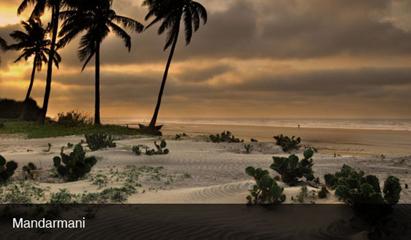 Beautiful Beaches at Mandarmani Beach, Kolkata