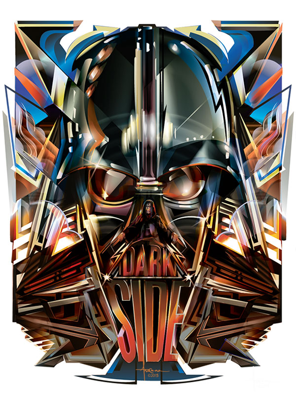 Dark Side Star Wars Artwork