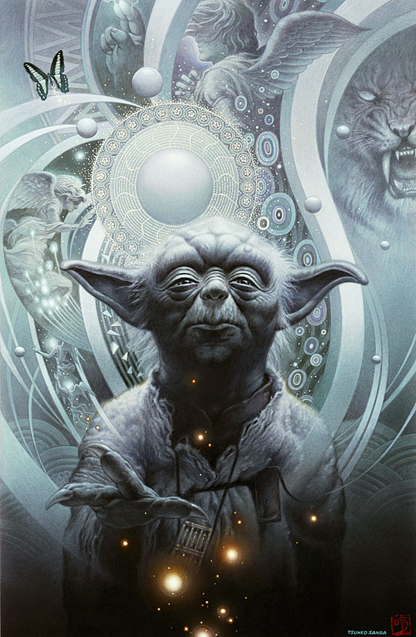 yoda star wars Artwork
