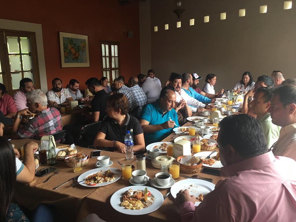 Reunión con el Sector Restaurantero.