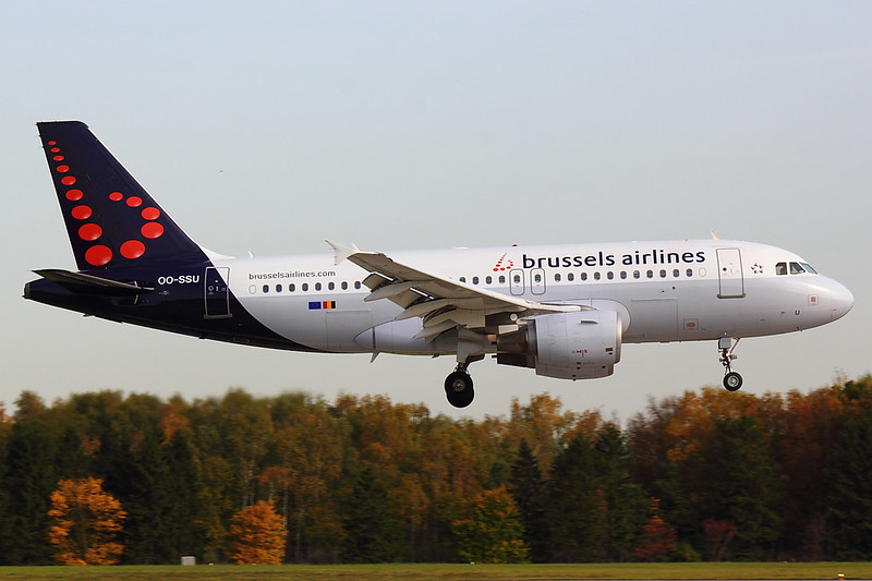 Brussels Airlines - A319 - OO-SSU