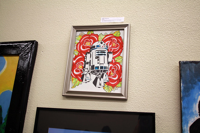 Star Wars Art Exhibit Downtown Santa Ana Return of the TarteWalk Can U Not
