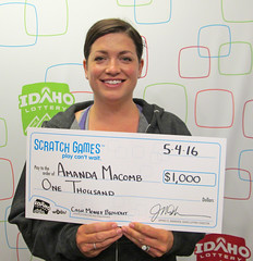 Amanda Macomb - $1,000 Cash Money Blowout