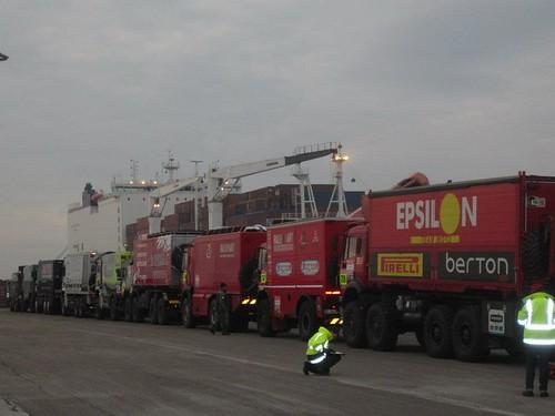 Epsilon Team puerto Le Havre - Archivo