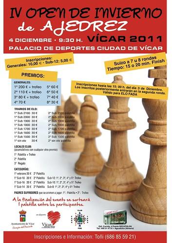 IV Open de Invierno de Ajedrez Vicar 2011