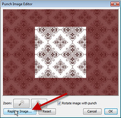 Replace Image Dialog in My Digital Studio