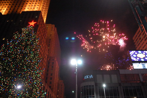 Macy's Light Up the Square 2011