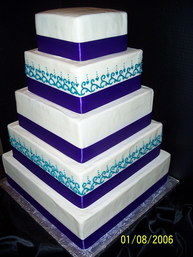 purple and teal wedding cake wedding cakes amp anniversary cakes dallas tx s 18877