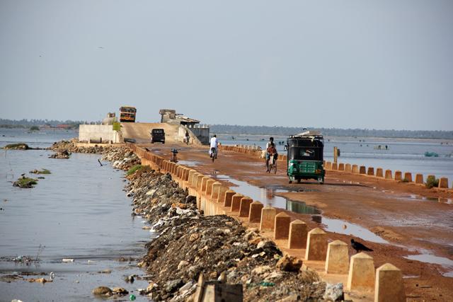 Causeway, Jaffna, Sri Lanka