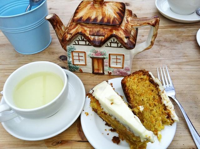 tea @ clifton nursery cafe