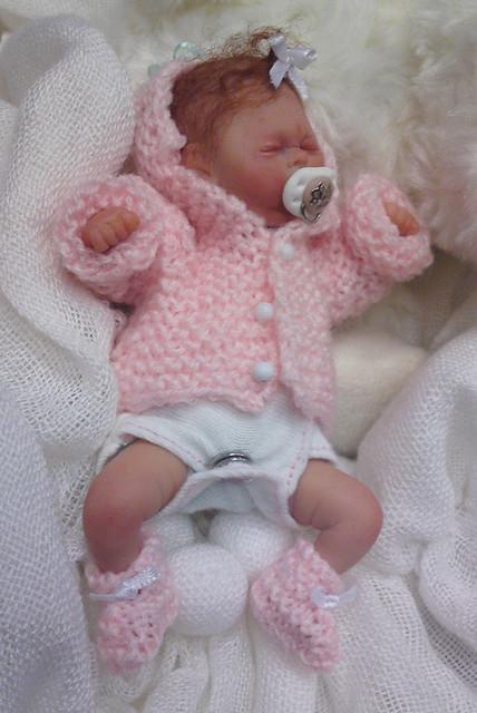Ooak polymer clay baby girl 62 flickr photo sharing