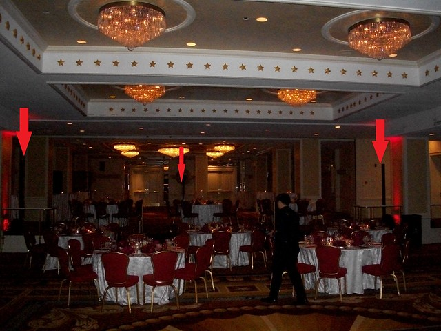 wedding at the Capitol Hilton, wedding DJ - Chris Laich Music Services