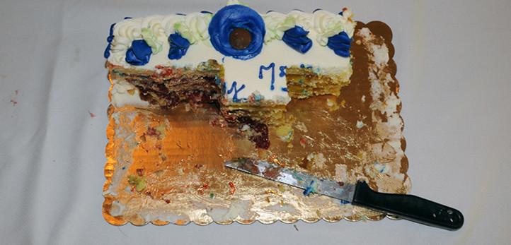 shrimp and petroleum cake