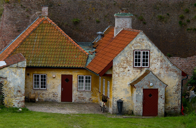 Kronborg Castle - Caretakers Hut