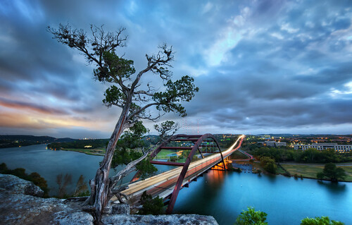 The Pennybacker Bridge