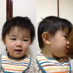 髪の毛切ったよ^^ (2011/12/2)