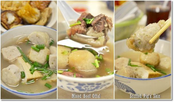 Yong Tau Foo, Stuffed Pig's Skin, Beef Offal