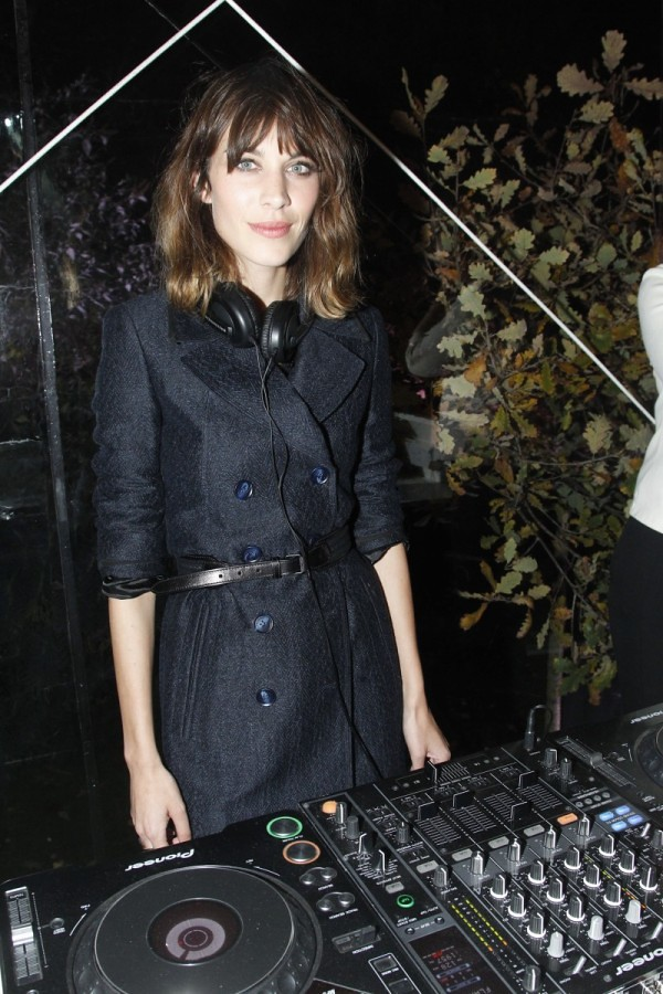 8 - Alexa Chung at the Burberry Paris event2