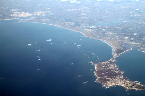 Quiberon's and Lorient's bay