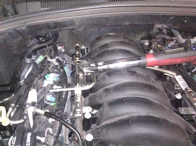JDP Motorsports' 2010+ Camaro SS Fuel Line Retrofit DIY 6460676109_44d8541356_z