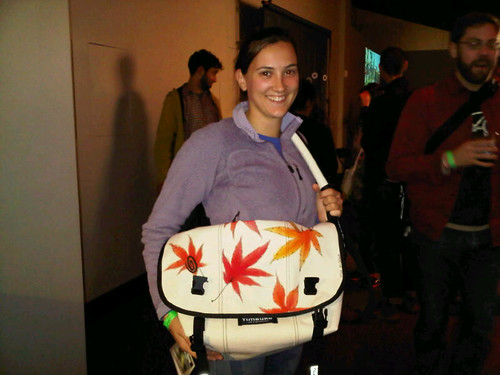 Winner of the maple leaf bag