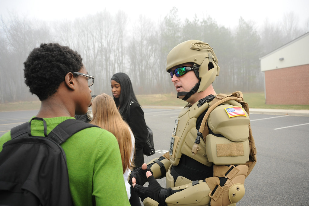 Maryland students beta test Army STEM recruiting vehicle