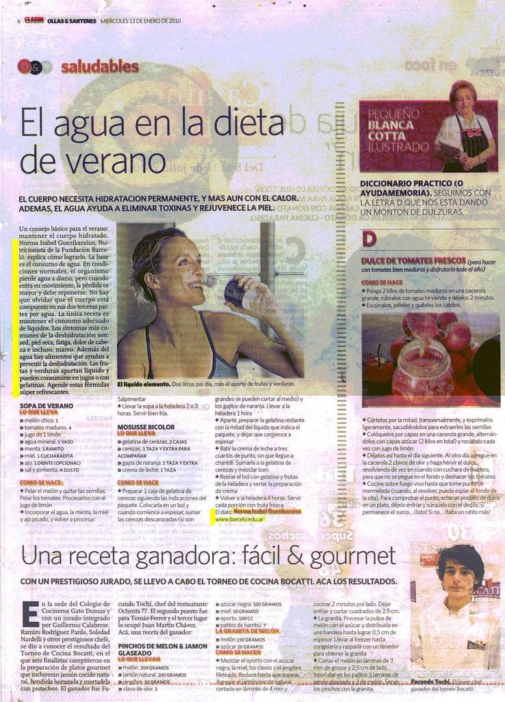 Diario Clar°n 13-01-10