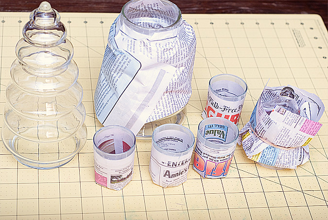 mercury glass before