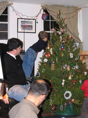 Jack Helps Trim the Tree: 2008