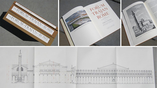 ROMAN ARCHITECTURE - THE FORUM OF TRAJAN: Prof. James E. Packer, THE FORUM OF TRAJAN IN ROME. VOL. I-II, and PORTFOLIO. Berkeley: University of California Press (1997).