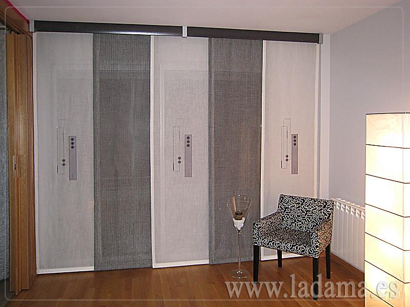 Decoraci n para salones modernos cortinas paneles - Fotos cortinas leroy merlin ...