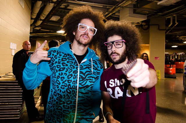 FroKnows with RedFoo from LMFAO